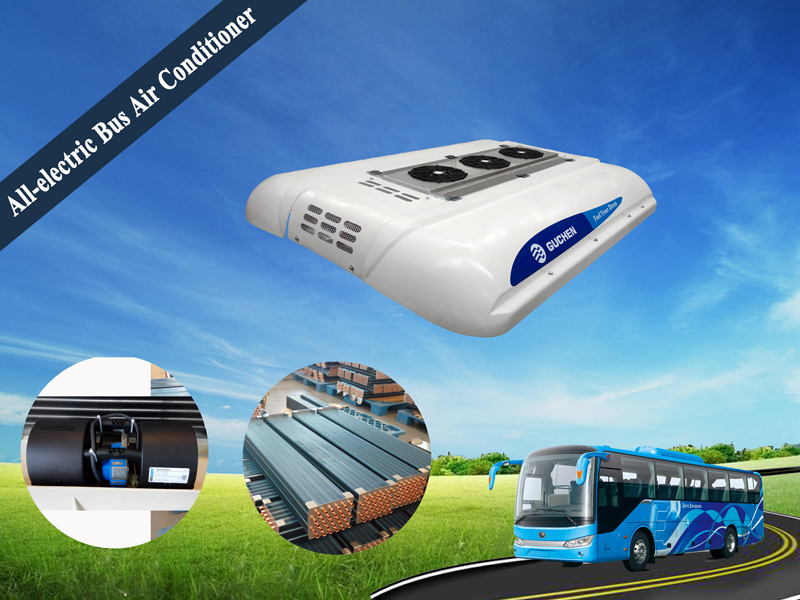 all electric bus air conditioner