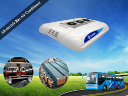 all electric bus air conditioner system