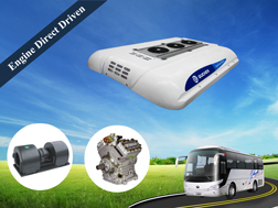 SDD series bus air conditioning for CNG bus, Hybrid bus - Guchen