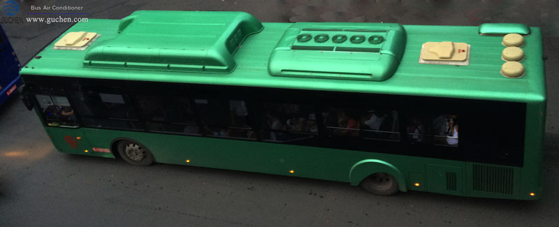 Guchen SD-06 bus air conditioner on 12 m bus