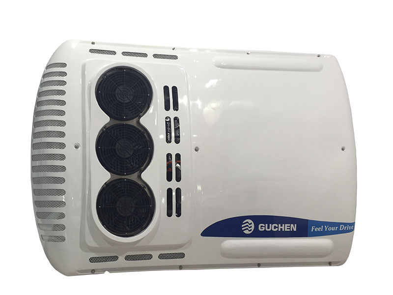 all electric bus air conditioner system ( double return air)
