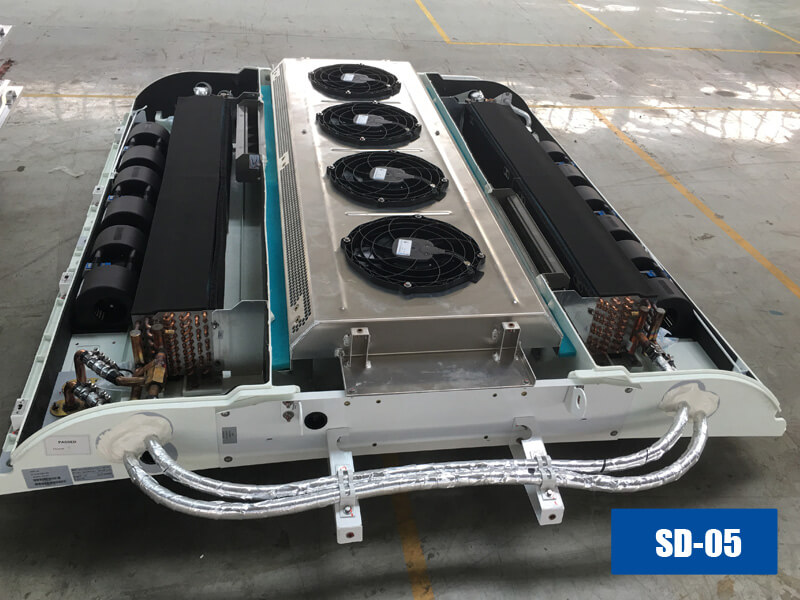 Guchen sd 05 bus air conditioning system