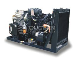 Independent Bus Air Conditioning System, bus HVAC powerplant,