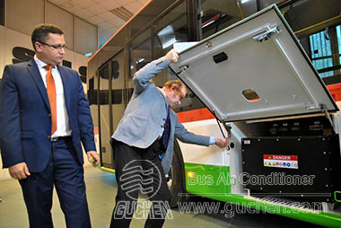 All-electric Bus Air Conditioner EZDR-04 Exported to Poland