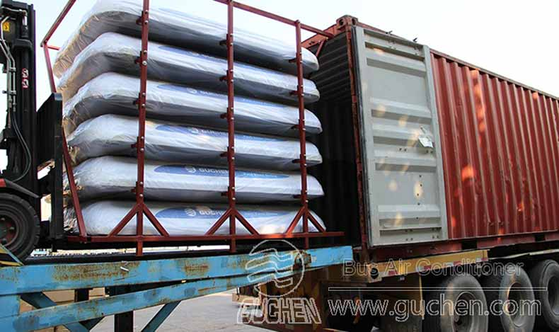 SDDR-04 Bus Air Conditioner Exported to Europe