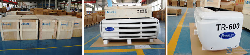 TR-350 TR-600 Truck refrigeration Units Package (evaporators)