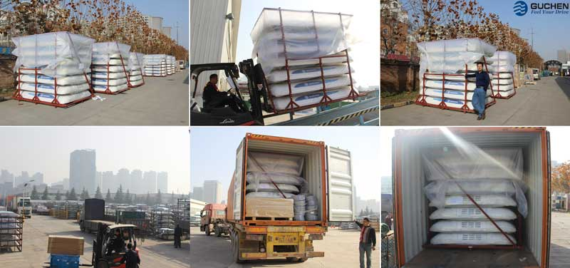Guchen Bus air conditioners system to Europe