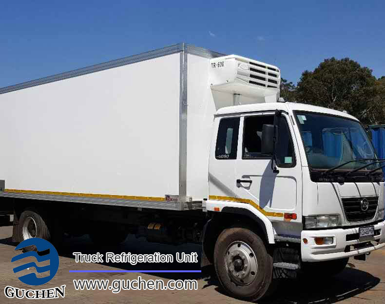 Photo:Guchen Thermo TR-650 truck reefer units export to south Africa