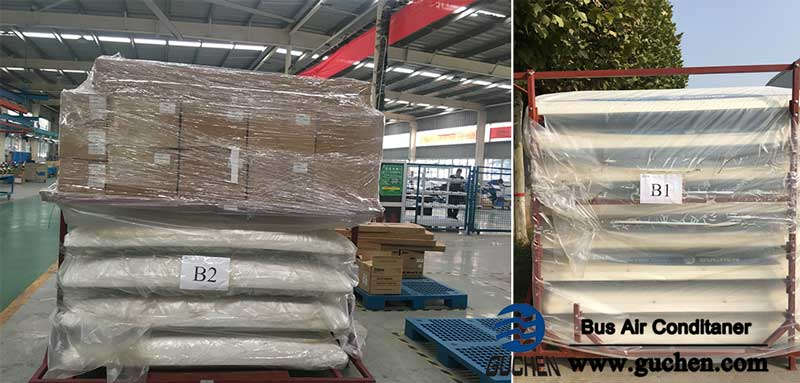 Guchen BD-06 Bus Air Conditioners are Loading in Factory