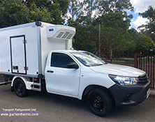F-300S Truck Refrigeration Units Export to Oceania|GUCHEN