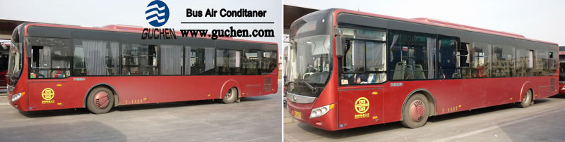 bus air conditioner installation for yutong bus