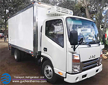 TR-350 Truck Refrigerated Units for Sale to JAC Trucks to Jordan|Guchen