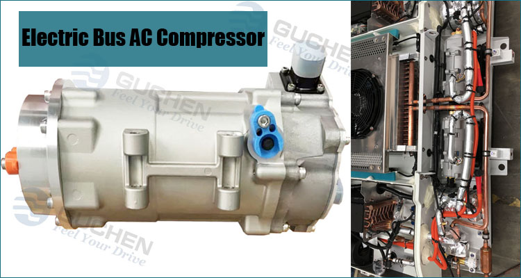 electric bus ac compressor