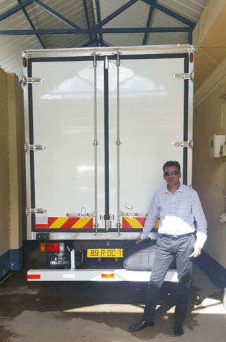 Guchen truck refrigeration units distributor in south africa