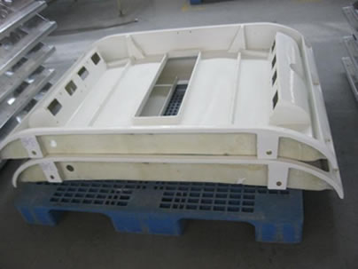 FRP bus air conditioning housing