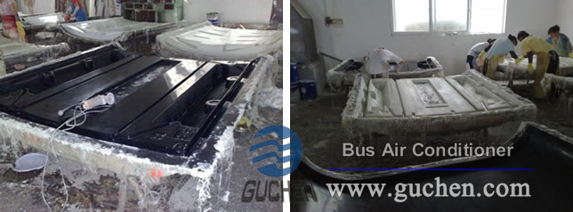FPR Handmade Lay Fiberglass Shell of Bus Air Conditioner