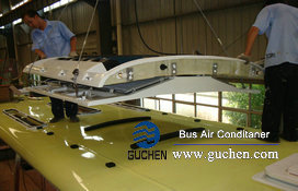 install bus air conditioning system-11