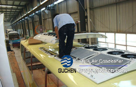 install bus air conditioning system-12
