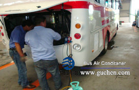 install roof mounted bus air conditioner-31