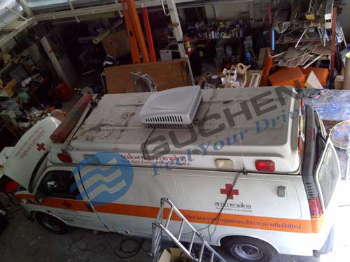 rooftop van air conditioner for ambulance