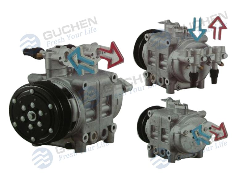 valeo ac compressor‎,Valeo TM Bus air conditioning Compressor