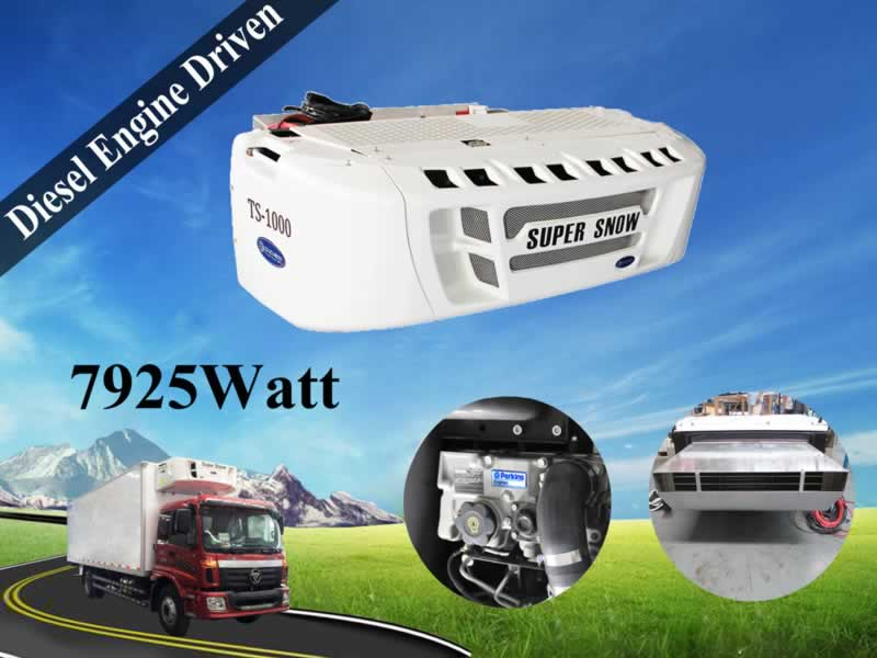 Super Snow Transport Refrigeration Units