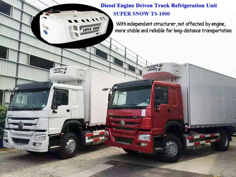 Diesel Engine Driven Refrigeration Units