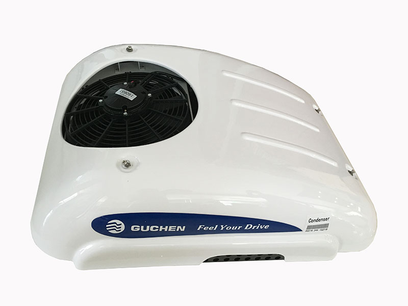 dc powered roof top truck air conditioner