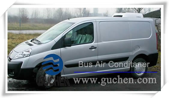 DC Powered rooftop Commercial Vehicle air conditioning