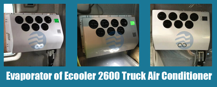 12v 24v truck cabin air conditioner