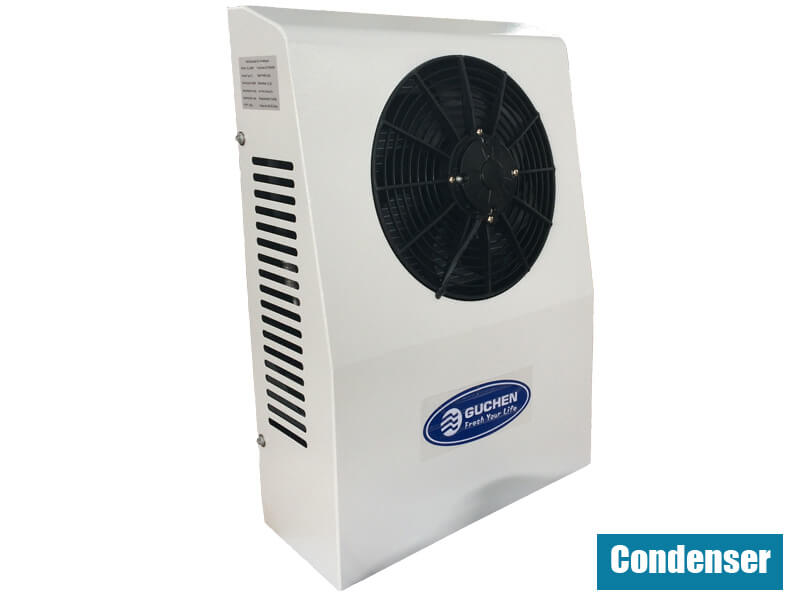 condenser of ecooler 2600 truck sleeper air conditioner