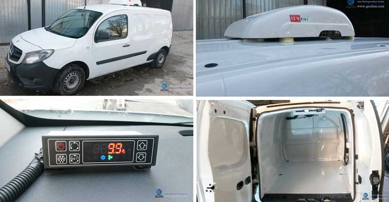 electric cargo van refrigeration units