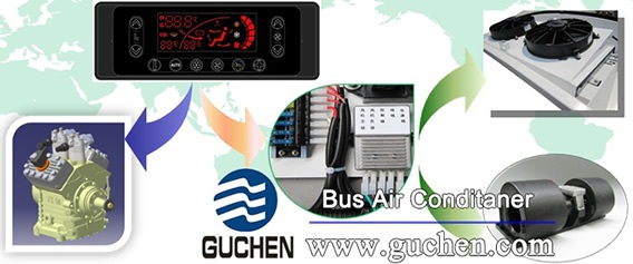 energy regulation control system of Bus A/C system