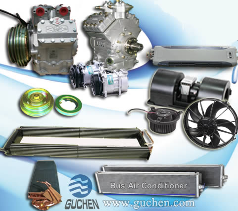 Bus Air Conditioning Parts - Coach Air Con Parts - Guchen