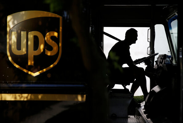 Air Conditioner Available for UPS Delivery Van