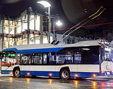 electric bus order in Ronamia