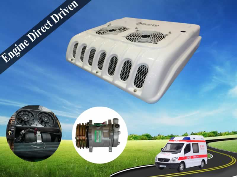 minibus roof top air conditioner