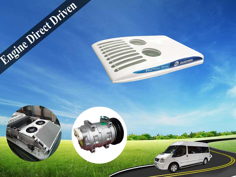 Minibus Van Air Conditioner Smalll Bus Roof Top Air Conditioner