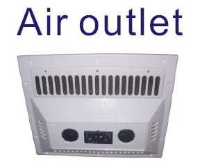 air outlet of GC-04 truck cabin air conditioner