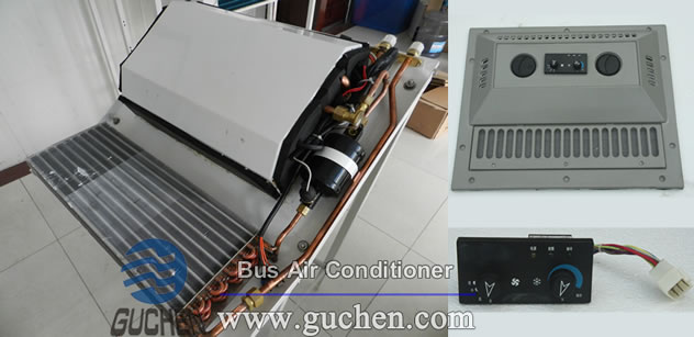 tractor air conditioning structure