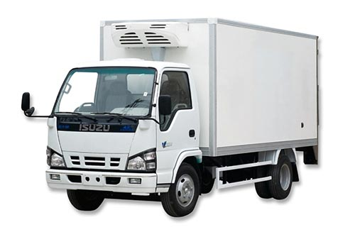 Electric standby of TR-450 truck refrigeration unit  installed on refrigerated truck