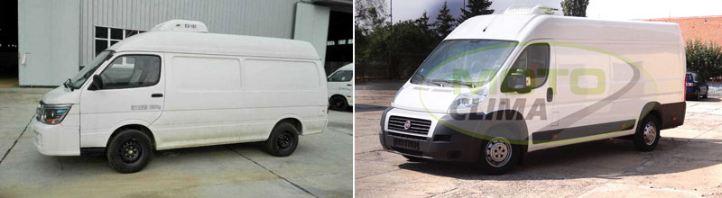 Van Refrigeration Kits, Roof Cooling Units for Cargo Van